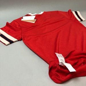 c32e11b0f6cc Shirts   Gucci Stripe Tshirt With Wolf Head Red   Poshmark